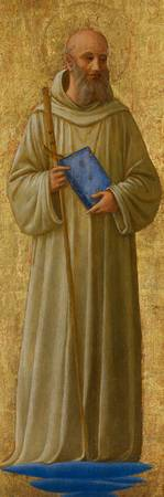 Saint Romuald, c.1440 (tempera on panel)