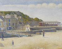 Port-en-Bessin, 1888 (oil on canvas)