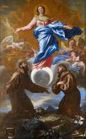 The Immaculate Conception with Saints Francis of A