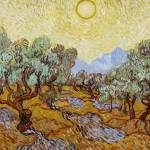 """Olive Trees, 1889 (oil on canvas)"" by fineartmasters"