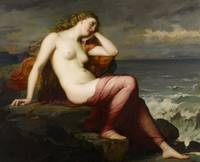 Calypso, 1869 (oil on canvas)