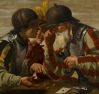 The Gamblers, 1623 (oil on canvas)