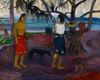 Under the Pandanus, 1891 (oil on canvas)