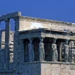 """Erechtheum & Caryatids, the Acropolis, Athens 2003"" by PriscillaTurner"