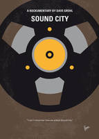 No181 My Sound City minimal movie poster