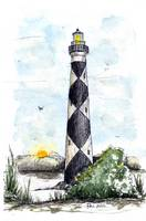 Cape Lookout Lighthouse North Carolina