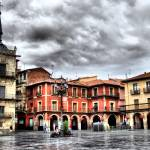 """Plaza Mayor of Leon, Spain"" by vribeiro"