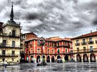 Plaza Mayor of Leon, Spain