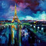 """Parisian Night"" by SagittariusGallery"
