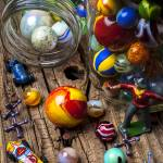 """Toys and marbles"" by photogarry"