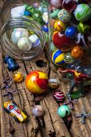 Toys and marbles