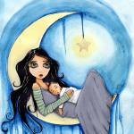 """Moon Child"" by LilliBeanDesigns"