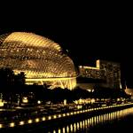"""Esplanade Theatre night tone"" by sghomedeco"