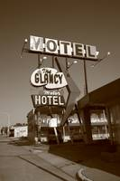 Route 66 - Glancy Motel