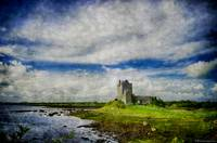Dunguaire Castle, Ireland - Texture