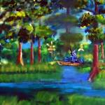 """digital Painting Moss Picker"" by garlandoldham"