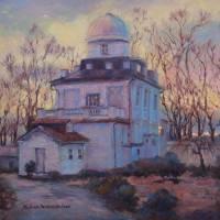 Hayden Observatory, Georgetown University Art Prints & Posters by Melanie Chambers Hartman
