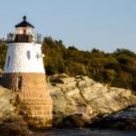 """Newport Harbor Castle Lighthouse-2"" by pixelcene"