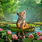 """Tiger Lily"" by jerrylofaro59"