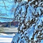 """Rhinecliff Winter"" by GBPhotography"