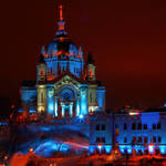 """Cathedral of St Paul All Dressed Up - Red Bull Cra"" by WaynePhotoGuy"