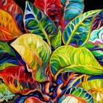 """TROPICAL ABSTRACT"" by MBaldwinFineArt2006"