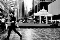Street photography, raffles place Singapore