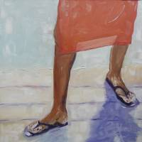 Flip Flops Art Prints & Posters by Josephine Hardison