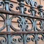 """Wrought Iron Fence - Boston"" by MzEmCab"