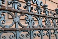 Wrought Iron Fence - Boston