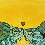 """Honu Love"" by GroffArt"