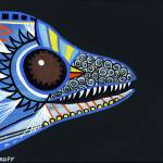 """Blue Steel Eel"" by GroffArt"