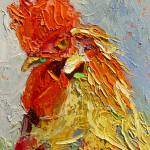 """Rooster in the House 13010"" by NancyStandlee"