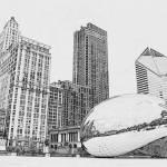 """Chicago Bean Millennium Park"" by fotodejan"