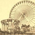 """Ferris Wheel at Navy Pier Chicago"" by fotodejan"