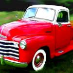 """1950 Chevrolet Model 3100"" by ArtbySachse"