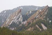 Second and Third Flatirons Boulder Colorado