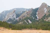 Three Flatirons Boulder Colorado
