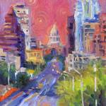 """Austin Downtown art painting svetlana novikova"" by SvetlanaNovikova"
