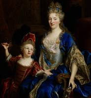 Portrait of Catherine Coustard, Marquise of Castel