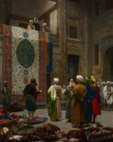 The Carpet Merchant, c.1887 (oil on canvas)