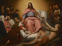 Christus Consolator, 1851 (oil on canvas)