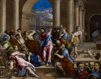 Christ Driving the Money Changers from the Temple,