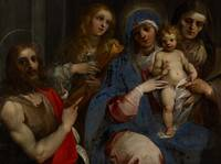 Madonna and Child with Saints John the Baptist, Ma