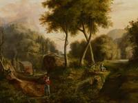 Landscape, 1825 (oil on canvas)