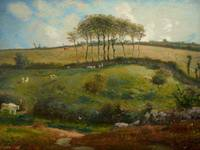 Pasture near Cherbourg (Normandy), 1871-2 (oil on
