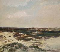 The Dunes at Camiers, 1871 (oil on canvas)