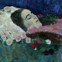Ria Munk on her Deathbed, c.1910 (oil on canvas)