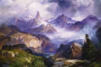 Index Peak, Yellowstone National Park, 1914 (oil o