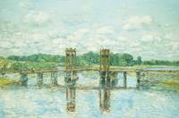 The Toll Bridge, New Hampshire, Near Exeter, 1906